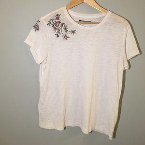 Abercrombie White T shirt
